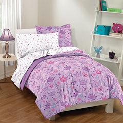 Dream Factory Stars & Crowns Comforter Set