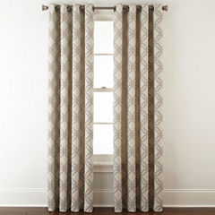 JCPenney Home™ Teagan Grommet-Top Curtain Panel