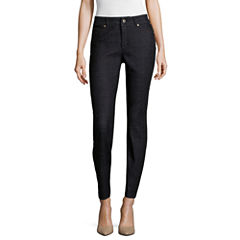 Liz Claiborne® Ultimate Fit Slimming Ankle Jeans - Petite