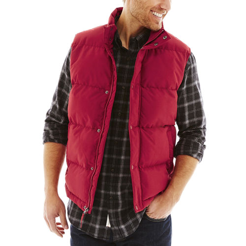 St. Johns Bay Puffer Mens Vest
