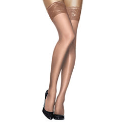 Hanes® Silk Reflections® Lace-Top Thigh-High Hosiery