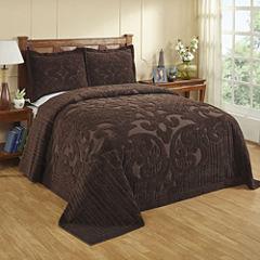 Better Trends Ashton Chenille Bedspread & Accessories
