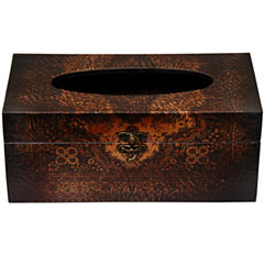 Oriental Furniture Olde-Worlde European Tissue Box Cover