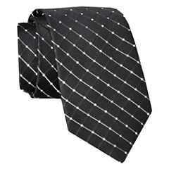 Stafford® Dotted Grid Silk Tie