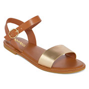 Bamboo Bayside Ankle-Strap Sandals