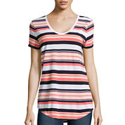 Stylus ™ Relaxed Fit Scoop Neck T-Shirt