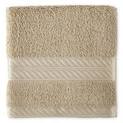 Royal Velvet® Premium Cotton Black Washcloth