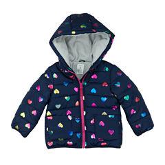 Carter's Midweight Puffer Jacket - Girls-Toddler
