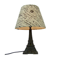 Simple Designs Manufactured Wood Table Lamp