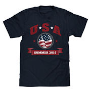 Short-Sleeve USA Summer 2016 Tee