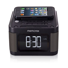 Memorex™ MC8431 Alarm Clock with Dual USB Ports