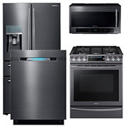 Samsung 4-Door French-Door Kitchen Package