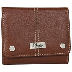 Buxton Wescott Zip Around Wallet
