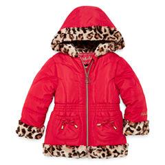 Midweight Puffer Jacket - Girls-Toddler