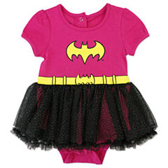 Batgirl Bodysuit Set-Baby Girls