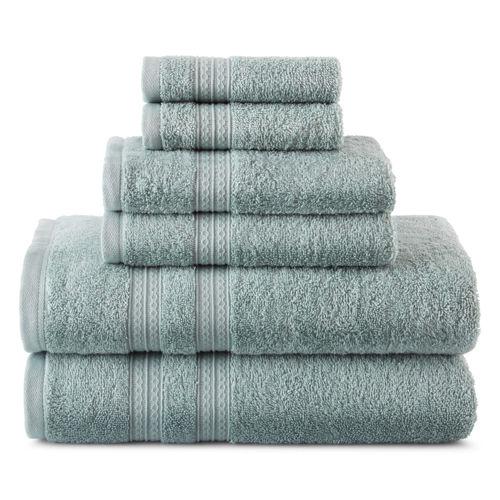 Home Expressions 6-Piece Bath Towel Set
