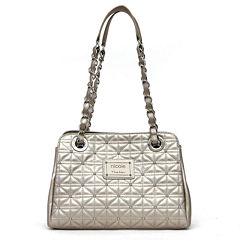 nicole by Nicole Miller® Suzie Quilted Tote with Studs