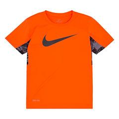 Nike N/A Short Sleeve Crew Neck T-Shirt-Preschool Boys
