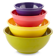 Cooks 4-pc. Melamine Mixing Bowl Set