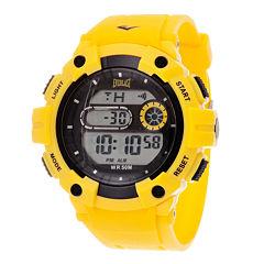 Everlast Yellow Digital Watch