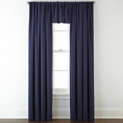 JCPenney Home™ Jenner Cotton Twill Rod-Pocket/Back-Tab Window Treatments