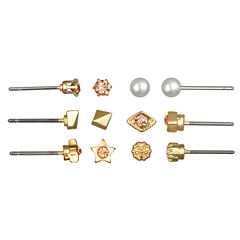 Mixit 6 Pair Earring Sets