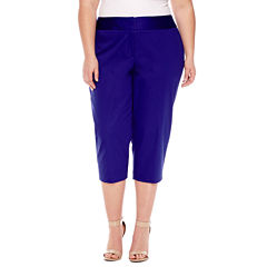 Worthington® Sateen Cropped Pants 21