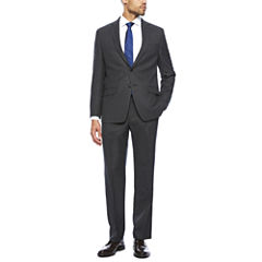 Collection by Michael Strahan Charcoal Neat Classic Fit Suit Separates