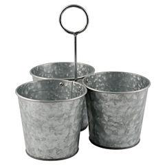 Thirstystone® Urban Farm Galvanized Iron Snack Buckets