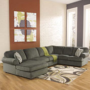 Signature Design by Ashley® Jessa Place 3-pc. Sofa Sectional