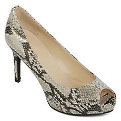 Liz Claiborne® Ramona Peep-Toe Dress Pumps