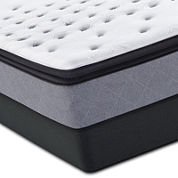 Sealy Posturepedic® Iguaza Falls Firm Euro Pillow-Top Mattress & Box Spring