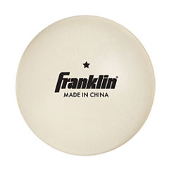 Franklin Sports 40Mm 1 Star White Table Tennis Balls