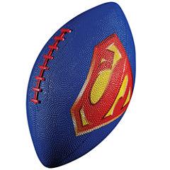Franklin Sports Mini Rubber Football - Superman