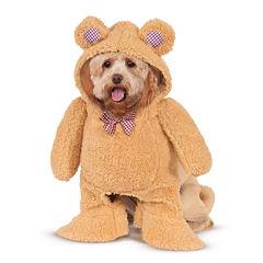 Walking Teddy Bear Pet Costume S
