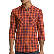 Arizona Long-Sleeve Western Poplin Woven Shirt