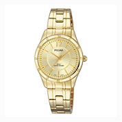 Pulsar® Ladies Easy Style Collection Gold-Tone Watch PH8258