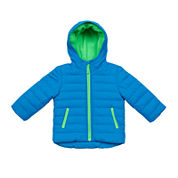 Carter's® Blue Quilted Long-Sleeve Hooded Coat - Baby Boys newborn-24m