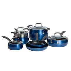 Epicurious 11-pc. Aluminum Nonstick Cookware Set