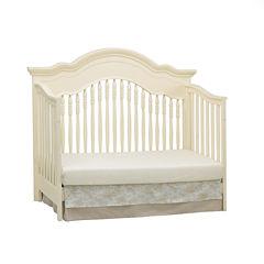 Suite Bebe Julia Lifetime 4-in-1 Convertible Crib - Linen