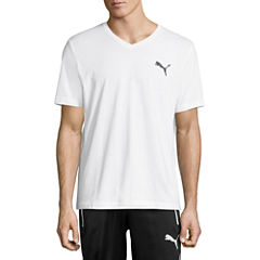 Puma Iconic Vneck Tee Short Sleeve V Neck T-Shirt