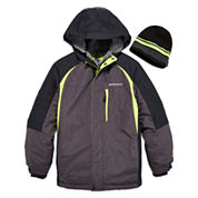 Zeroxposur® Snowboard Jacket with Beanie - Preschool Boys 4-7