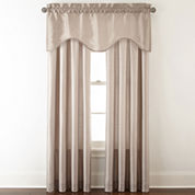 Royal Velvet® Plaza Thermal Interlined Rod-Pocket Window Treatments