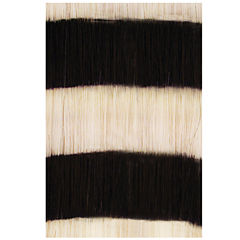 HairUware Clip-in Bright Stripes White/Black