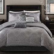 Madison Park Crawford 7-pc. Comforter Set