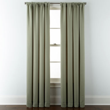 JCPenney Home™ Marsell Rod-Pocket/Back-Tab Curtain Panel - JCPenney
