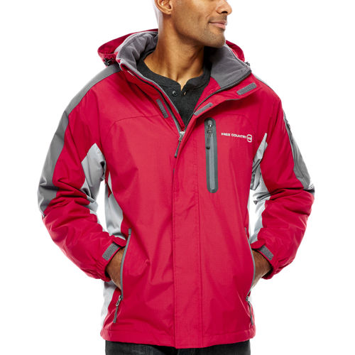 Free Country Mens Colorblock Jacket