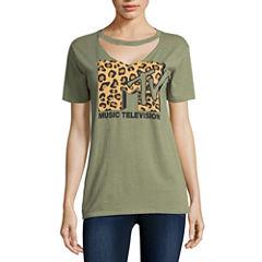 MTV Graphic T-Shirt- Juniors