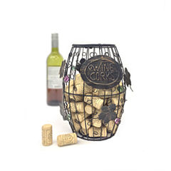 Mind Reader 'Corky' Wine Cork Holder With Ornaments