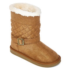 Arizona Malu Girls Quilted Boots - Little Kids